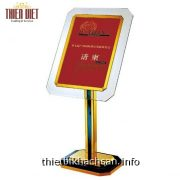 Biển menu, biển chỉ dẫn cho nhà hàng, khách sạn – Sign Stand