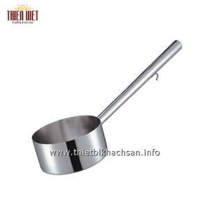 Ca muc nuoc inox co tay cam-Stainless Steel Water Ladle With Hook