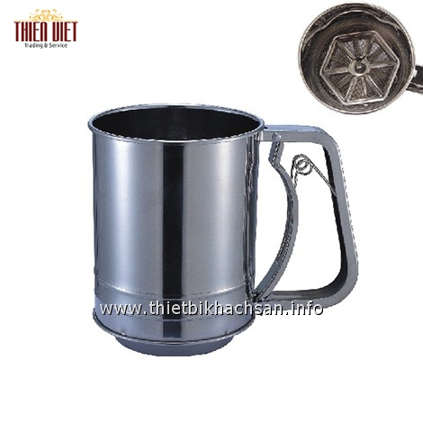 Dụng cụ rây bột-Manual Stainless Steel Powder Sifter