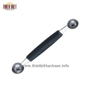 Dung-cu-vien-dua (2 dau)-Stainless Steel Pulp Scoop(Double Head)
