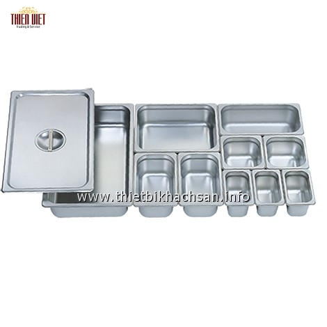 Khay đựng thực phẩm inox - Stainless Steel GN Pan